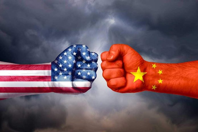China and United States Get Into Heated Exchange