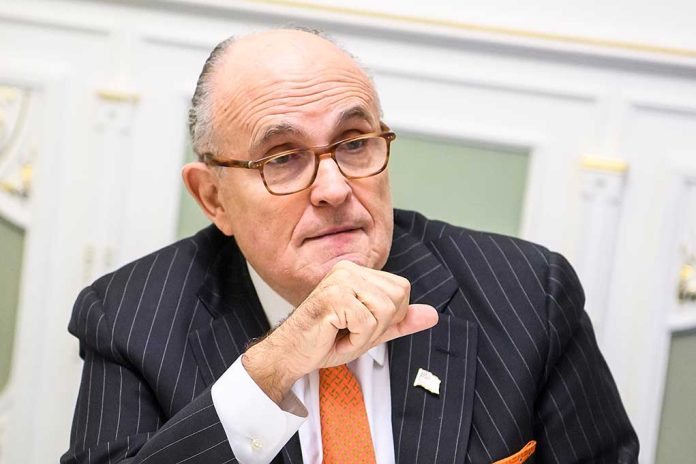 Rudy Giuliani Says It's Political