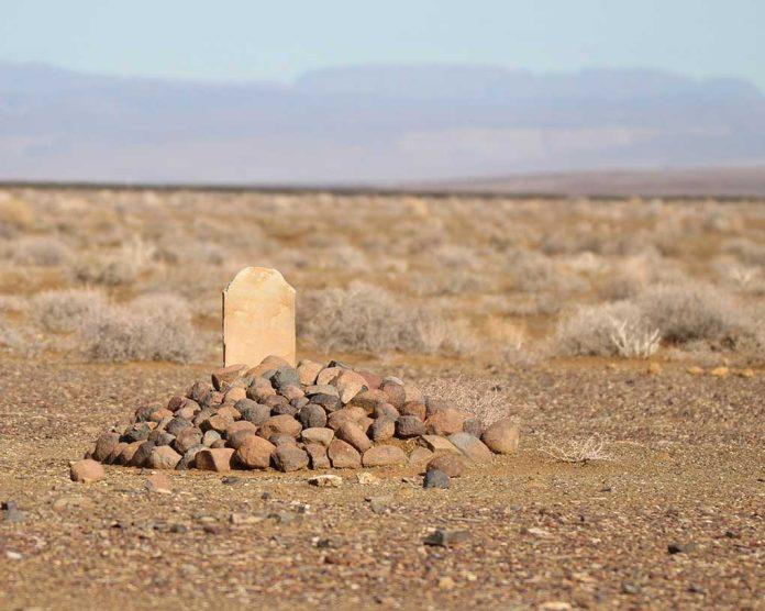 Killing Field Found Next to US Border